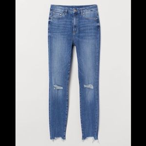H&M Embrace High Waisted Ankle Jeans